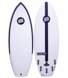 Tabla de surf Press Play Emery Surfboards FCSII