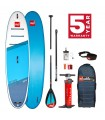 INFLATABLE BOARD SUP RED PADDLE CO RIDE 10'6""