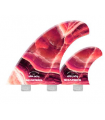 "Carbon Flare Series AP 5.79"" FCS Pink"