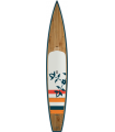 """14'0 OXBOW GLIDE x 28"""" Bamboo Paddle Tour"""
