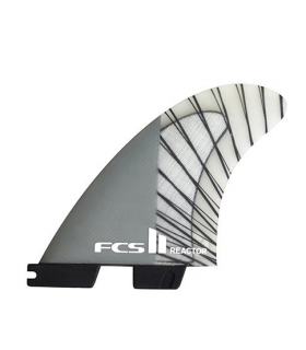 Quillas FCS 2 Reactor PC Charcoal M Tri Fins
